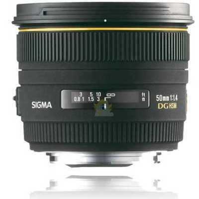 Sigma 50mm F1,4 EX DG HSM Objectif pour Nikon
