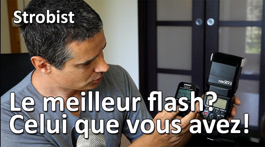 le meilleur flash est celui que vous avez deja strobist studio de rue