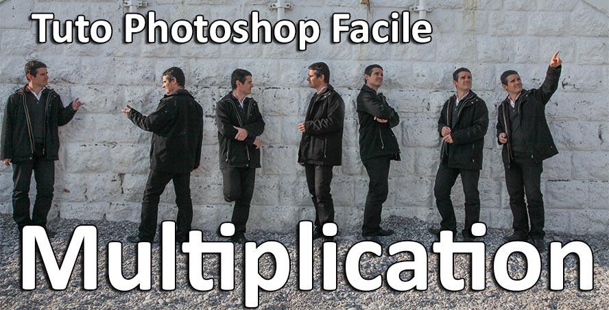 tuto photoshop clonage multiplication