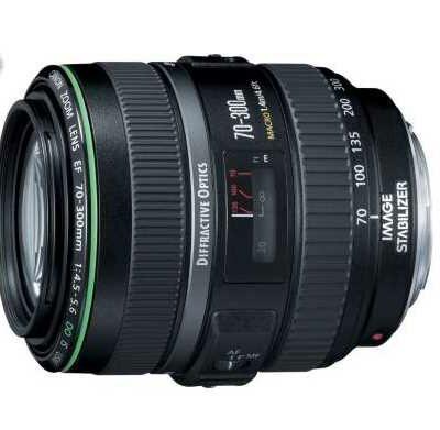 Objectif CANON EF 70-300mm f4.5-5.6 DO IS USM @ Boulanger