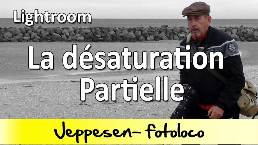 desaturation partielle lightroom tutoriel