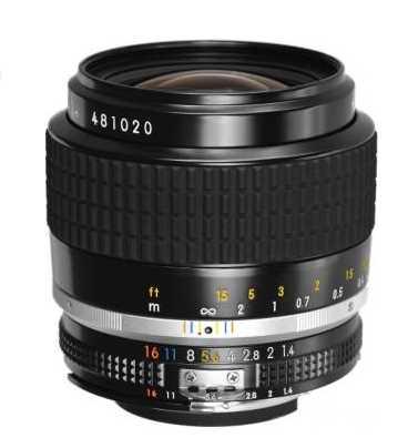 Objectif pour reflex nikon ai s 35mm f 1 4 nikkor for Objectif a miroir pour nikon