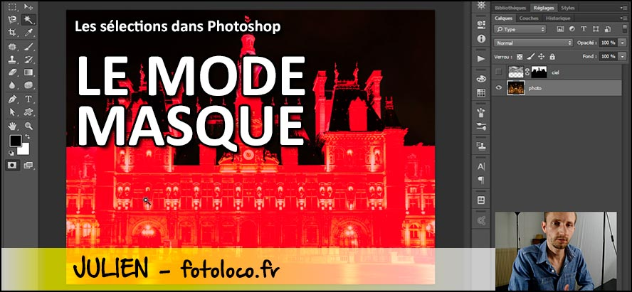 tuto photoshop masque de selection