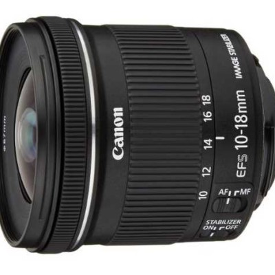 Objectif Canon EF-S 10-18 f/4.5 - 4.5 IS STM @ Amazon.fr