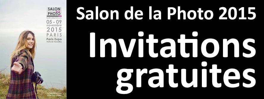 Invitations gratuites au salon de la photo de paris for Salon a porte de versaille 2015