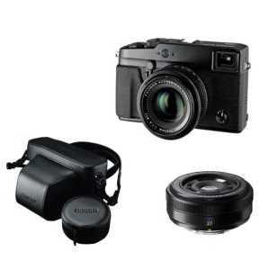 Fujifilm X-Pro 1 + Objectif 27 mm + Objectif 35 mm + Housse Fujifim @ FNAC