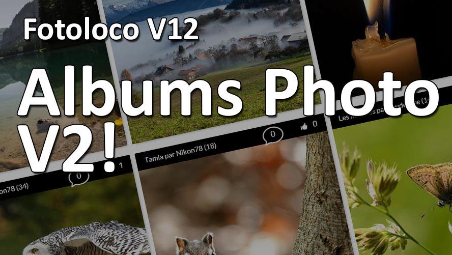 fotoloco V12 mise a jour des albums