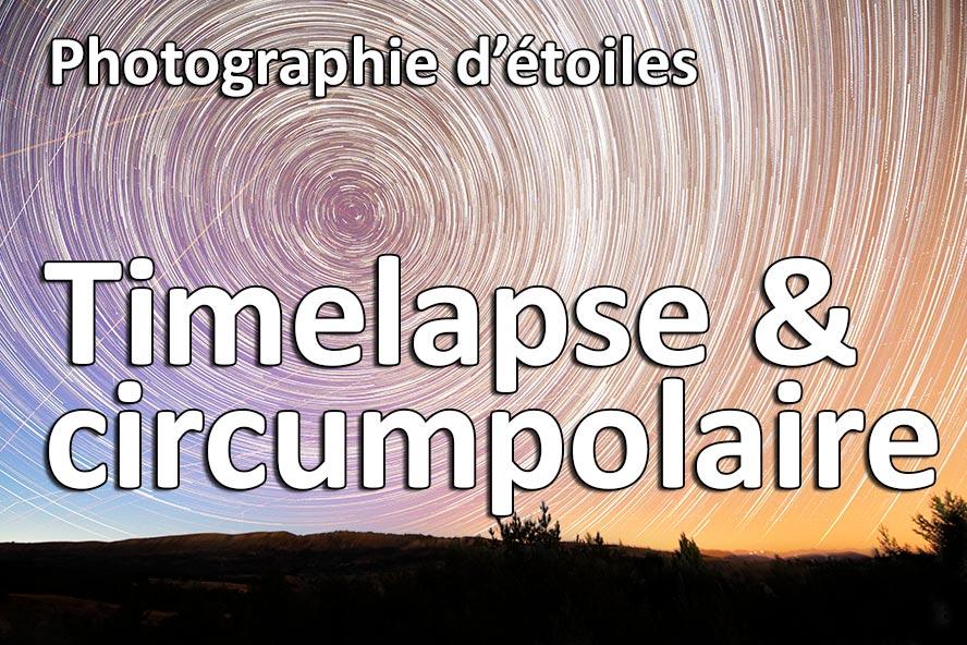 photographie etoile timelapse circumpolaire