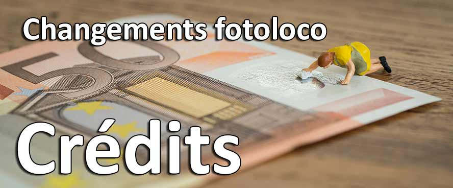 fotoloco changement systeme credits