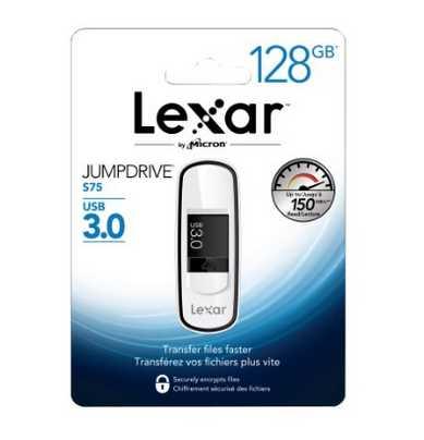 Clé USB 3.0 128 Go  Lexar @ Amazon