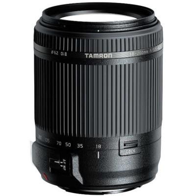 Tamron Objectif 18-200mm F/3.5-6.3 Di II VC Noir - Montures Canon, Nikon, Sony @ Miss Numerique