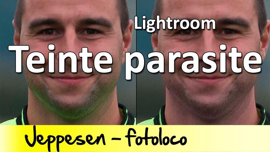 Corriger les teintes parasites sous lightroom