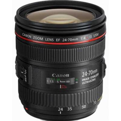 Canon Objectif 24-70 mm f/4.0 L IS USM Vente Flash 12h30 @ Amazon.fr