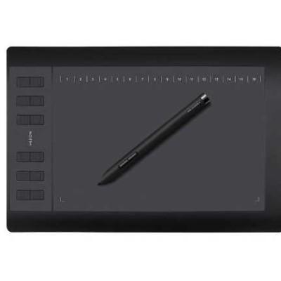 Tablette graphique Huion 1060 plus + carte SD Vente flash @ Amazon
