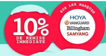 10% de réduction sur  sur tous les produits Vanguard, Samyang, Hoya et Billingham @ Miss Numérique