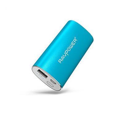 Batterie Externe de Secours 5200mAh RAVPower- Entree 2A/ Sortie 2.4A - Rose @ Amazon.fr