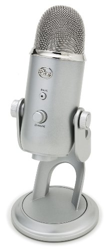 Blue Microphones - Microphone USB Yeti Argent @ Amazon.fr
