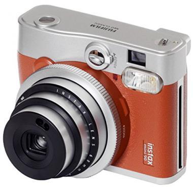 Fujifilm 40597 Appareil Photo instantane Instax Mini 90 Neo Classic - Marron clair @ Amazon.fr
