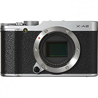 """Fujifilm Kit X-A2 Silver + XC16-50mm II  + XC 50-230 Appareil numerique compact a Objectif Interchangeable APS-C 16-3 Mp Ecran 3"""" 3/2 Inclinable (Selfie) Argent @ Amazon.fr"""