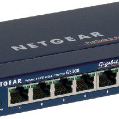 Netgear - Switch 8 ports gigabit boitier metal @ Amazon.fr