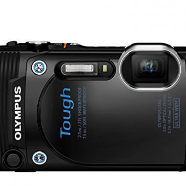 """Olympus TG-860 Appareil photo numerique etanche et tout-terrain 16 Mpix - Ecran 3"""" - Zoom Optique 5x - Blanc @ Amazon.fr"""
