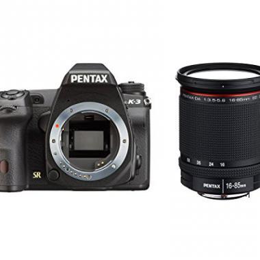 Pentax K-3 Appareil photo numerique Reflex 24 Mpix Kit Objectif DA 16-85 mm Noir @ Amazon.fr