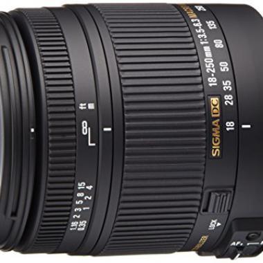 Sigma Objectif Macro 18-250 mm F3-5-6-3 DC OS HSM - Monture Nikon @ Amazon.fr