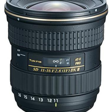 Tokina AT-X PRO DX II Objectif pour reflex Canon 11 a 16 mm f 2.8 Noir @ Amazon.fr
