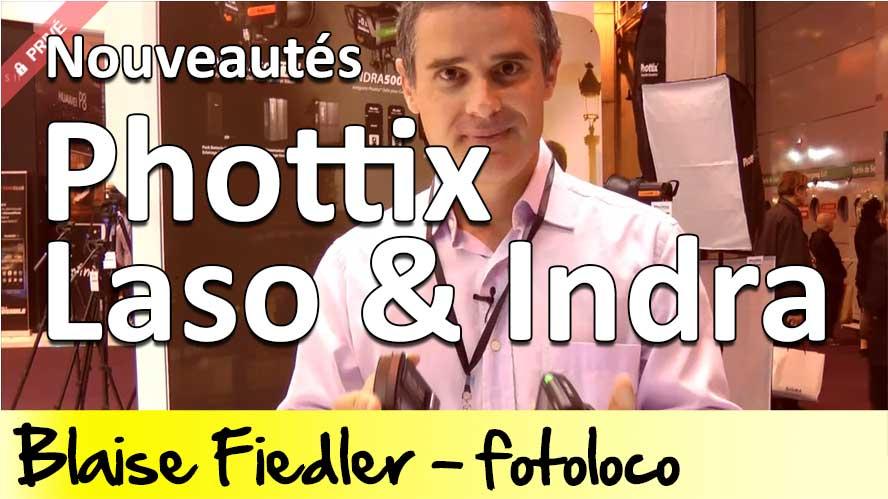 Phottix Laso et Indra 360 TTL avis