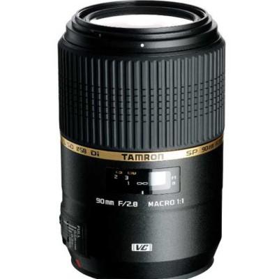 Tamron Objectif SP 90mm F/2,8 Di VC USD MACRO 1:1 Canon / Nikon vente flash @Amazon