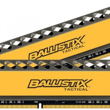 Crucial CL8 Memoire RAM DDR3 16 Go (2 x 8 Go) PC3-12800 800 MHz @ Amazon.fr