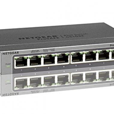 Netgear - Switch ProSafe Plus - 8 Ports Gigabit @ Amazon.fr