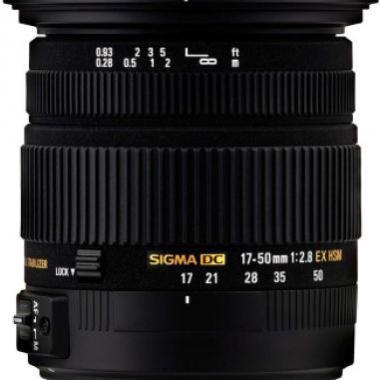 Sigma 17-50mm F2.8 DC OS HSM E @ Grosbill