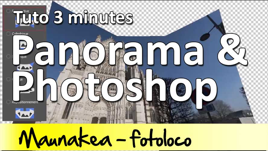tuto panorama photoshop