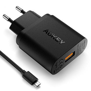 AUKEY Chargeur Secteur USB Quick Charge 3.0 @ Amazon.fr