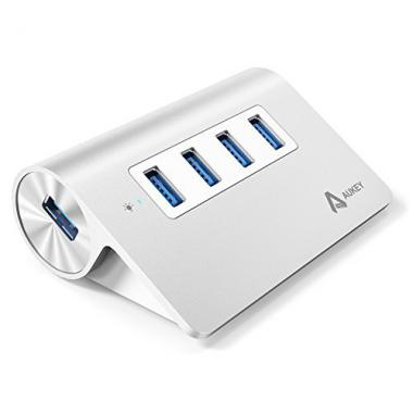 Aukey Hub 4-port USB 3.0 en Aluminium @ Amazon.fr