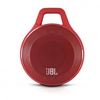 JBL Clip Enceinte Portable Ultra Légère Bluetooth avec Mousqueton Intégré pour un usage interne/externe - Rouge @ Amazon.fr