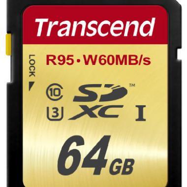 Transcend 64 Go Carte memoire SDXC UHS-I TS64GSDU3 @ Amazon.fr