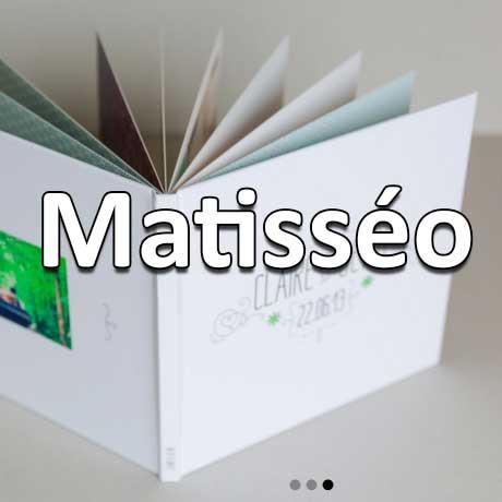 Matisséo: jusqu'à 50% sur les livres photos