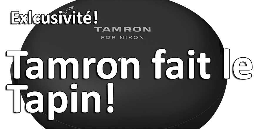Tamron Tap in USB Dock