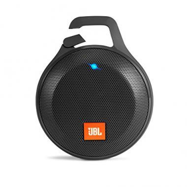 JBL Clip+ Haut Parleur Portable, Rechargeable et Resistant aux Eclaboussures - Noir @ Amazon.fr