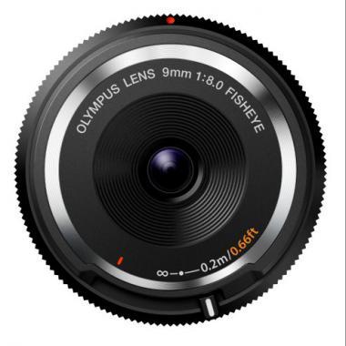 Olympus BCL-0980 Objectif pancake Fisheye 9 mm Noir @ Amazon.fr