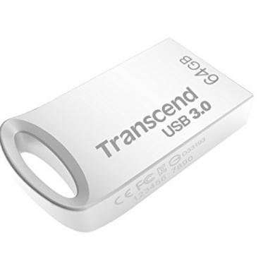 Transcend TS64GJF710SE Cle USB 3.0 64 Go Argent @ Amazon.fr