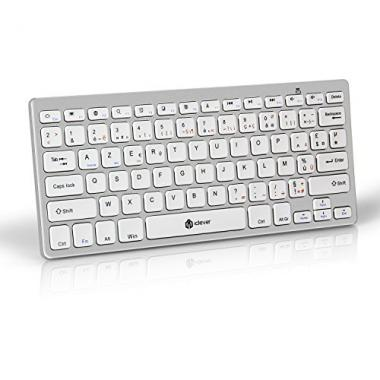 iClever Clavier AZERTY Bluetooth @ Amazon.fr