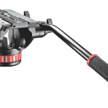 Manfrotto - MVH502AH - Rotule Pro Video fluide - Noir @ Amazon.fr