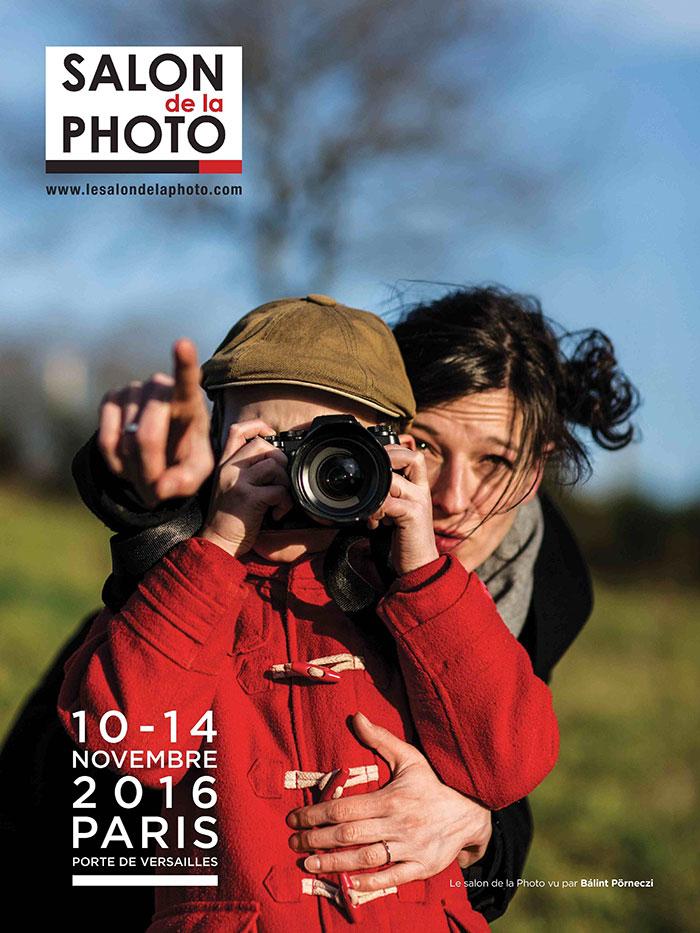 Affiche du Salon de la Photo 2016