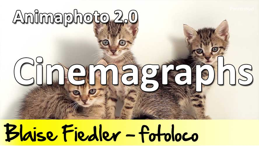 Cinemagraphs avec Animaphoto 2.0