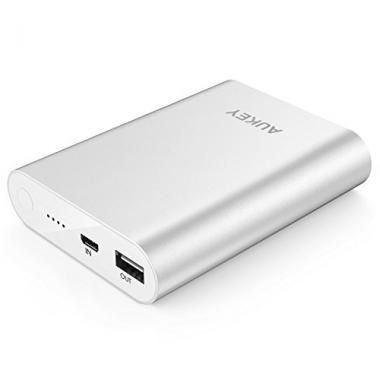 AUKEY Quick Charge 2.0 Batterie Externe Portable 10400mAh Powerbank @ Amazon.fr