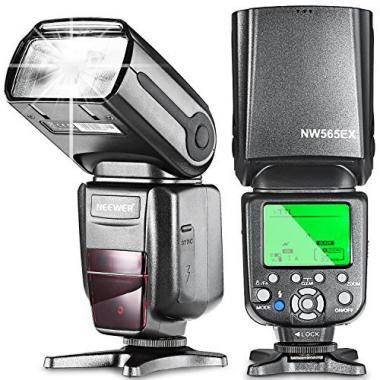 Neewer NW565EX II-TTL Flash Esclave Speedlite avec Flash Diffuseur pour Nikon D7200, D7100, D7000, D5100, D5200, D5000, D3200, D3100, D3000, D800, D700, D600, D500, D300, D90 et autres Nikon DSLR @ Amazon.fr