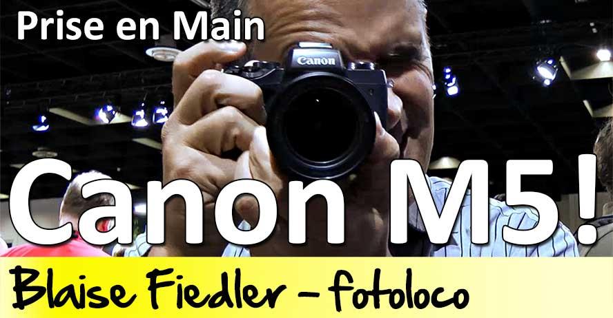 Test Canon EOS M5 Photokina 2016